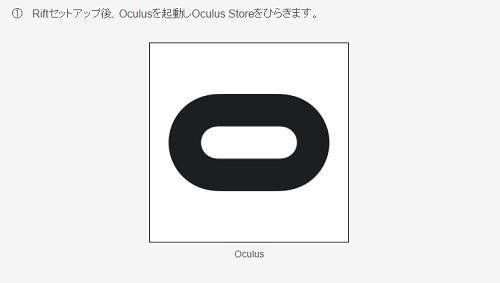OculusRift(オキュラスリフト)での見方