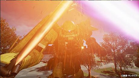 ガンダムVR「ダイバ強襲」ビームサーベル
