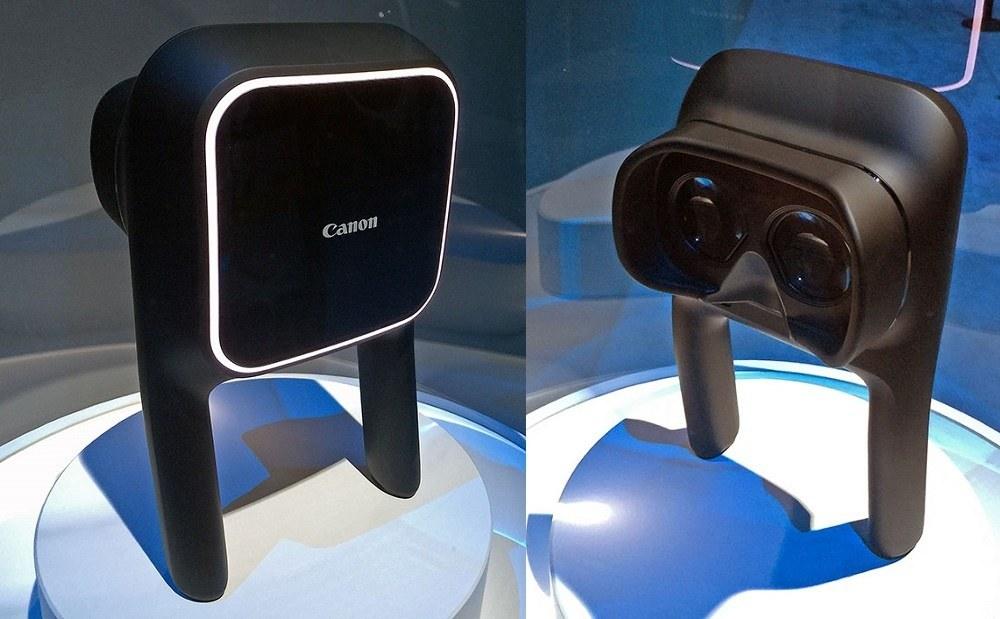 Canon(キャノン)が開発中のVRヘッドセットの試作品を公開!