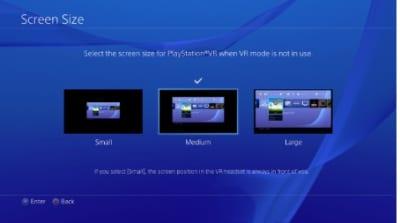 プレステVRのシネマティックモード