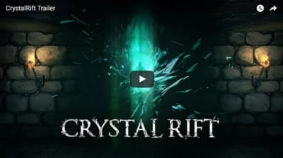 PSVRゲームソフト「CRYSTAL RIFT」のPV