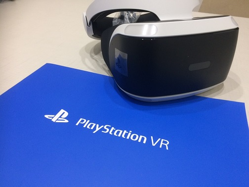 PlayStationVR(プレイステーションVR/プレステVR)開封レビュー!