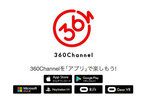 360Channel徹底紹介!無料で高品質VR動画が楽しめる!