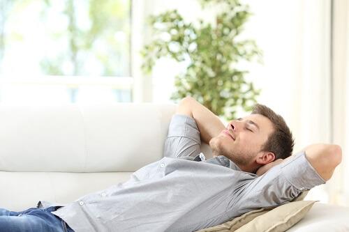 VR酔い対策ゆっくり休む