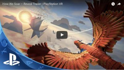 PSVRゲームソフト「How We Soar」のPV