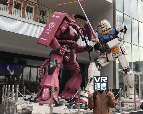 ガンダムVR「ダイバ強襲」体験