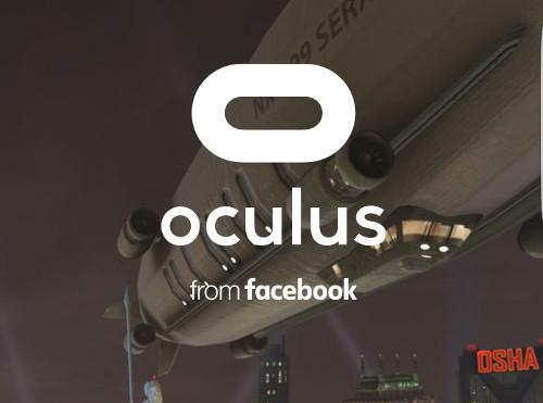 Oculusアカウントにログイン
