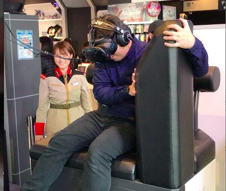ガンダムVR「ダイバ強襲」体験レビュー手の平に乗る