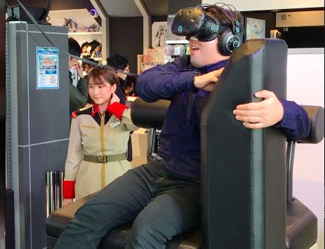 ガンダムVR「ダイバ強襲」体験レビュー「しがみつき」