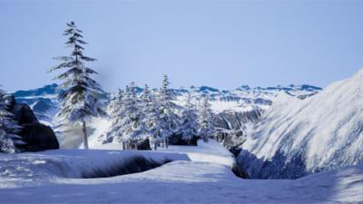 VR ZONE Shinjuku「雪山」