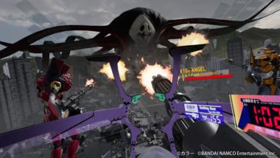 VR ZONE Shinjuku「エヴァの戦闘」