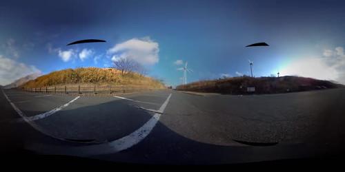 無料VR動画「超スピードで疾走」