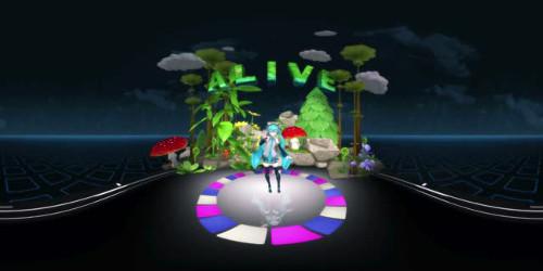 無料VR動画「初音ミク」