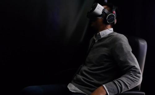 VRセンター体験「ホラーVR」