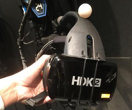 ゼロレイテンシーVR「VRヘッドセット」