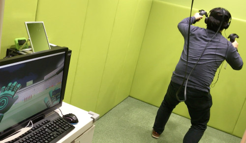 自遊空間NEXT「VRスタジオ①体験」