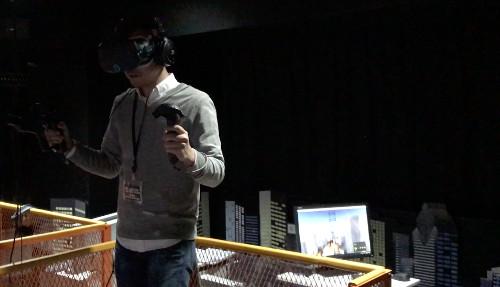 VRパーク東京「だいぶハード」