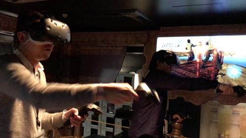 VR PARK TOKYO「ソロモンカーペット」