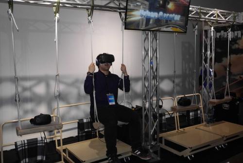 VRセンター体験「アーバンコースター」