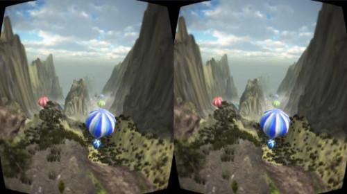 VRアプリゲーム「WingSuitプレイ動画」