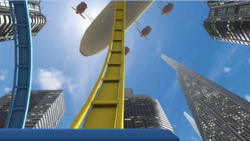 VRアプリゲーム「宙がえり」