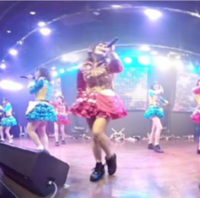 仮面女子のVRライブ「星たちよ」