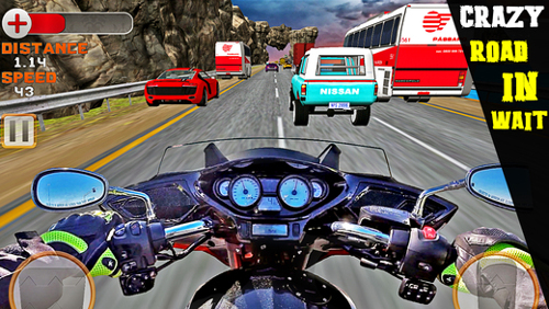 VRアプリゲーム「バイクですり抜け」