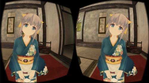 VRアプリゲーム「なごみのリアクション」