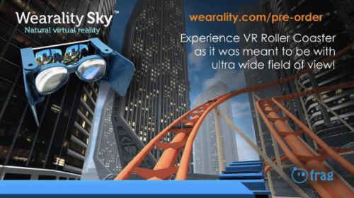VRアプリゲーム「ジェットコースター」
