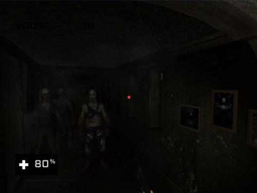 VRアプリゲーム「ゾンビ」