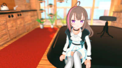 VRアニメ「ProjectLUX配信中」