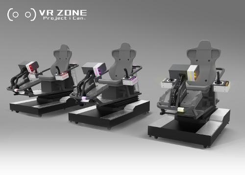 エヴァVR体験専用マシン