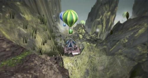 VRアプリゲーム「WingSuitVR」
