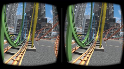 VRアプリゲーム「1回転」