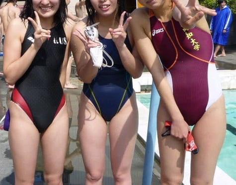 競泳水着のエロロ