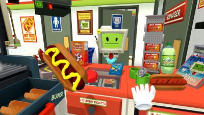 プレステVRゲーム「Job Simulator」
