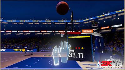 プレステVRゲーム「NBA 2KVR」