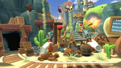 PSVR対応ゲームソフト「カーニバル ゲームズ VR」