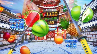 PSVRゲームソフト「Fruit Ninja VR」