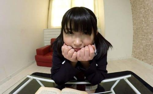 【エロVR動画レビュー】浅田結梨 見つめられる幸せ!巨乳女子校生の誘惑おねだりエッチ「センパイ…勉強よりも、もっといい事しよっ」でパンチラだけで抜けるので泣けてくるw