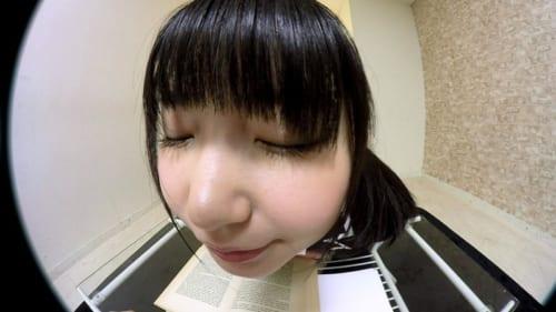浅田結梨 見つめられる幸せ!巨乳女子校生の誘惑おねだりエッチ「センパイ…勉強よりも、もっといい事しよっ」キス