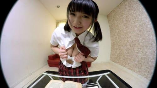 浅田結梨 見つめられる幸せ!巨乳女子校生の誘惑おねだりエッチ「センパイ…勉強よりも、もっといい事しよっ」レビュー