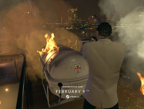 VR PARK TOKYOにジョン・ウィックのVRゲーム登場!渋谷で激しい銃撃戦を体感!!