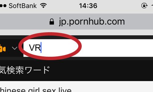 ポルノハブのVR裏技
