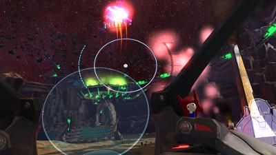 プレステVRゲーム「Starstrike」