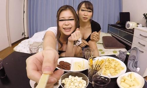 【VR長尺】当然、勝手にAV化!ほろ酔い状態の女の子とHな王様ゲームVR編 Vol.2
