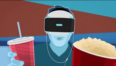 3Dの映画をPSVRで楽しむ