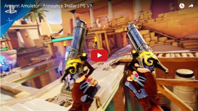 PSVRゲームソフト「Ancient Amuletor」