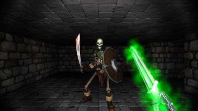 PSVRゲームソフト「Crystal Rift」
