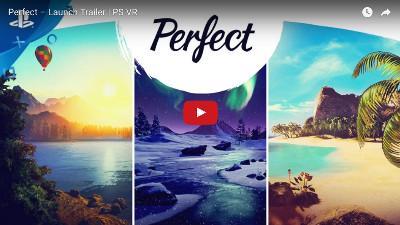 PSVRゲームソフト「Perfect」のトレイラー